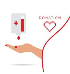 Donation symbol vector