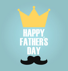 fathers day king vector image
