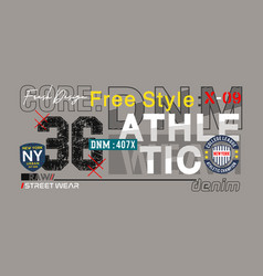 Free style vector