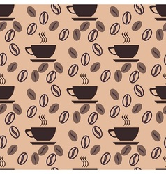 Good coffe pattern vector image