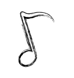 Musical notes design vector