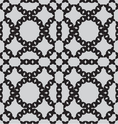 patterns seamless monochrome vector image vector image