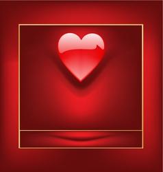 valentine box vector image vector image