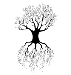 graphical tree vector image