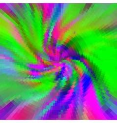 spiral pattern ornate background vector image vector image