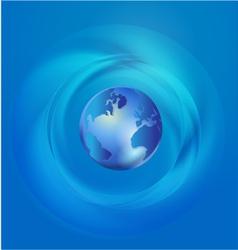 World Global Commerce communication vector image