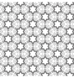 Seamless pattern with mosaic lace ornament vector image