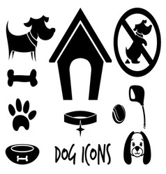 animal icons1 vector image