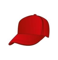 baseball cap icon image vector image