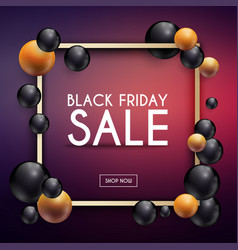 Black friday sale can be used for website and vector