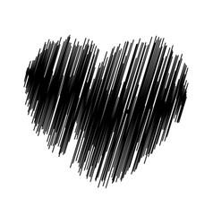 crayon valentine31 00 vector image