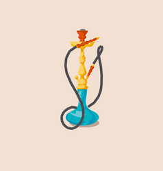 Hookah for print and web vector