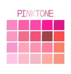 Pinktone Color Tone without Name vector image