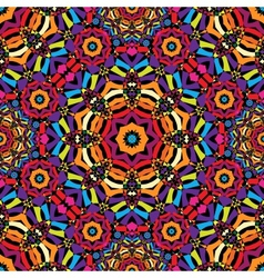 seamless kaleidoscope pattern vector image