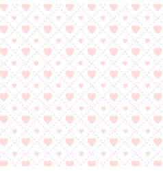 valentines pattern background vector image