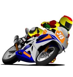 al 0420 motorcycle 02 vector image vector image