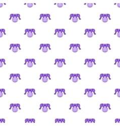Hockey armor pattern cartoon style vector image vector image