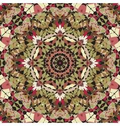 seamless kaleidoscope pattern vector image vector image