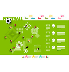 football infographic - vector image