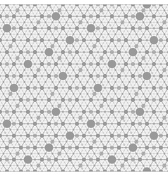 network gray background vector image vector image