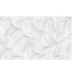 black and white abstract pattern with waves vector image