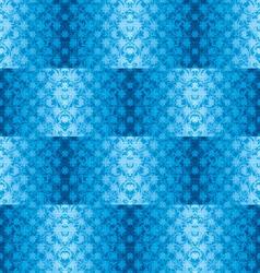 blue silk seamless vector image