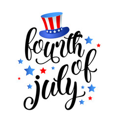 Fourth july independence day united states vector