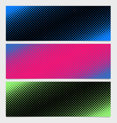 halftone dot pattern banner background - from vector image