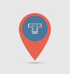 Map pin atm vector