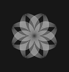 sacred geometry 0019 vector image