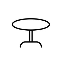 Table icon furniiture icon vector