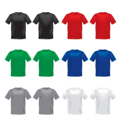 Tshirts template vector