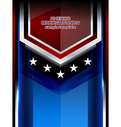 Usa backgrounds modern style vector