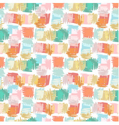 autumn seamless pattern background for kids vector image vector image