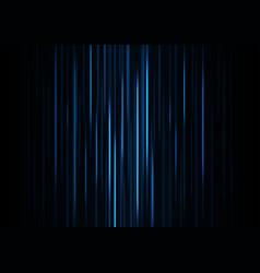 blue speed laser technology background vector image vector image
