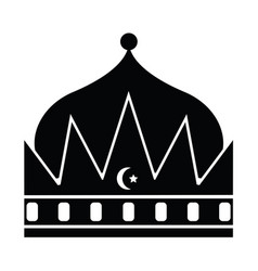 crown of the king vector image