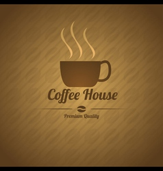 Coffee House Menu vector image