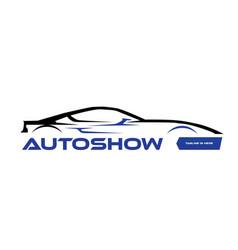 Auto show logo vector