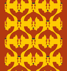 bodybuilder seamless pattern championship of vector image