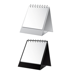 empty white and black background for calendar vector image