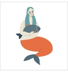 Mermaid Dodo collection vector
