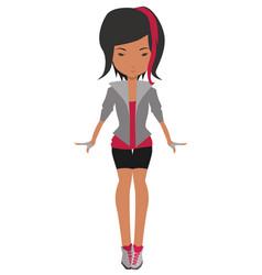 teenagegirl vector image