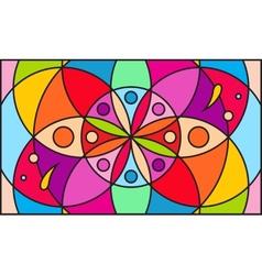 Kaleidoscope color background vector