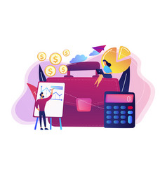 accounting concept vector image