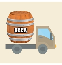 Beer design brewery icon beverage concept vector