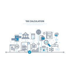 Calculations counting profit income taxes vector