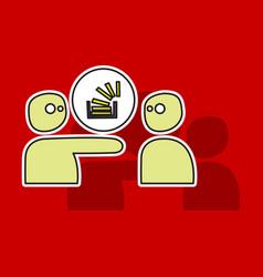 Code logo overlow social social media stack vector