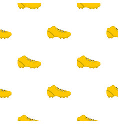 Football or soccer shoe pattern seamless vector