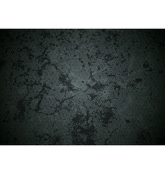 Grunge dark abstract wall texture vector