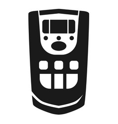 ionizer remote control icon simple style vector image